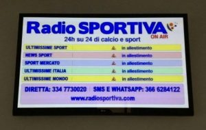 Radio sportiva in Tv sul canale 659 Digitale terrestre